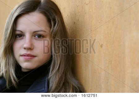 Woman Looking To Camera