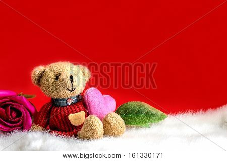Valentines Day and Sweetest Day and Love concept