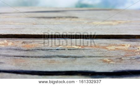 Wooden wall texture and wood background photo