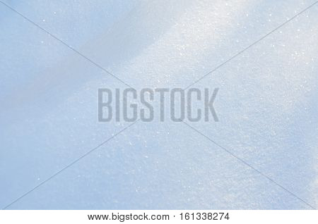 Snow texture for the background  Winter time