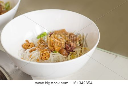 Dry Noodle With Pork
