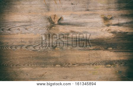 Weathered wooden planks background