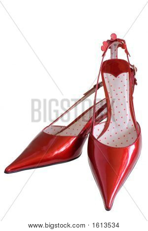 Red Patent-Leather Shoes