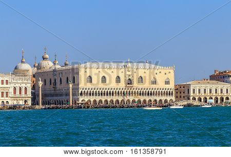View Of St. Mark's Square And The Doge's Palace