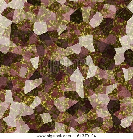 Abstract stony 3d generated brown textured texture