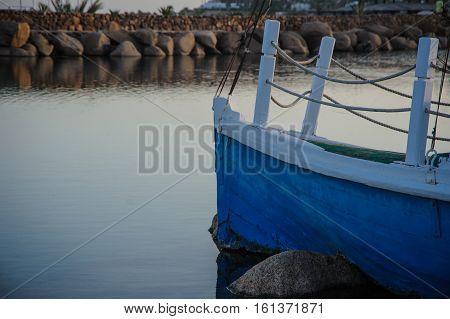 ship shipwreck in tropical location egypt red sea island broken