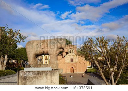 Salamanca Iberian Verraco stone sculpture in Spain
