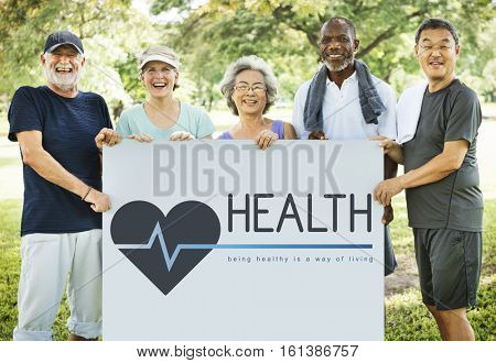 Healthy Lifestyle Wellness Wellbeing Concept