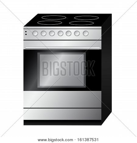 Stove technology vector icon isolated on background. Stove technology logo and illustration.