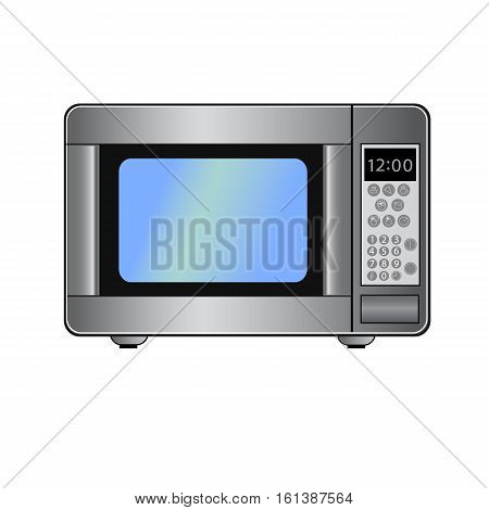 Microwave technology vector icon isolated on background. Microwave technology logo and illustration.