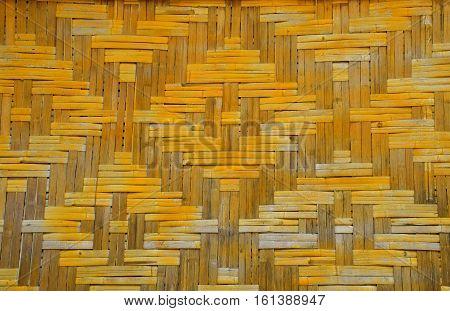 Wicker Braided Bamboo Wall Texture
