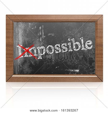 The Impossible Can Be Possible