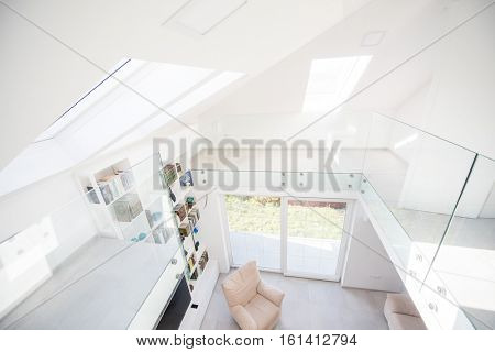 Modern interior of new house