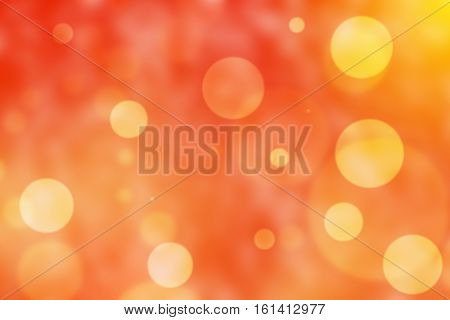 Abstact Bokeh  Defocus Background red yellow flare