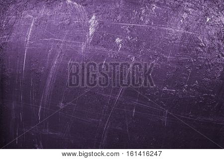 Abstract painting background in purple color palette.