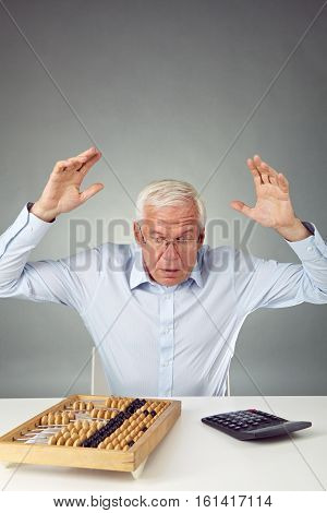 Senior man astonished at figures of his debt