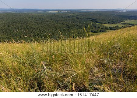 Shikhan mountain Toratau, Tra-Tau, Russia, Bashkortostan, South Ural