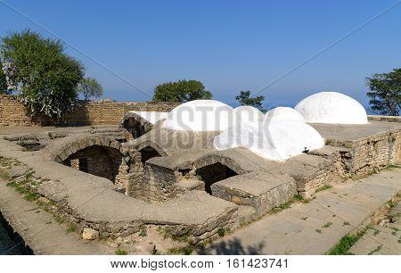 Khan's Bath In The Naryn-kala Fortress. Derbent
