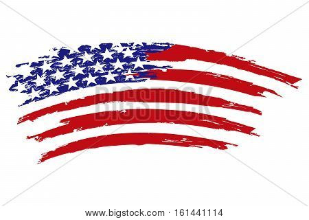 USA Flag Icon usa national flag textured