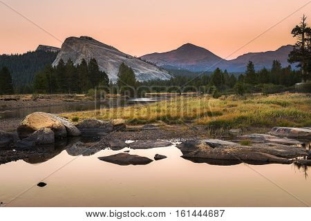 Tuolumne Meadow Yosemite