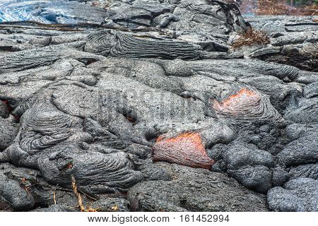 Lava Field, Big Island, Hawaii