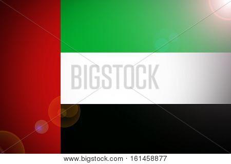nited Arab Emirates flag, UAE Nation flag