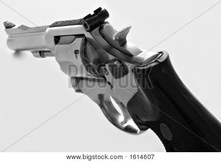 Dry Brush Rendering 38 Caliber Gun