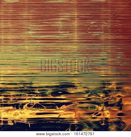 Retro texture, shabby and ragged background in grunge style. With different color patterns: yellow (beige); brown; green; red (orange); purple (violet); pink
