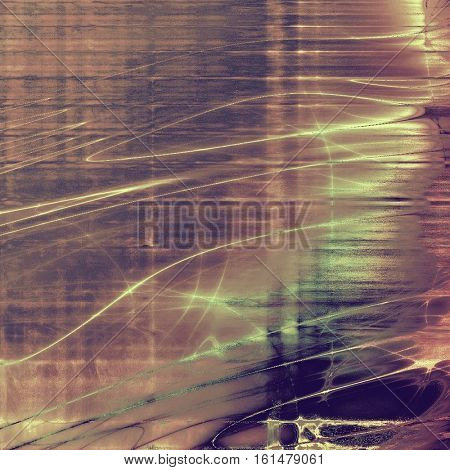Abstract grunge weathered background of vintage texture. With different color patterns: yellow (beige); brown; gray; purple (violet); pink; cyan