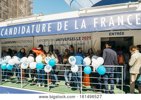 Queue To France Candidacy For World Fair 2025 Pavilion