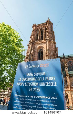 France Candidacy For World Fair 2025