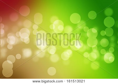 Abstract Green Sparkling Air Bubbles In Water Or Abstract Green Soap Bubbles In Deep Water Backgroun