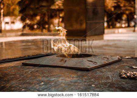 Eternal Flame - symbol of victory in World War II