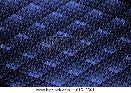 ceiling light panels - black blue fractal digitally abstract texture