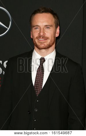 NEW YORK-DEC 13: Michael Fassbender attends the screening of