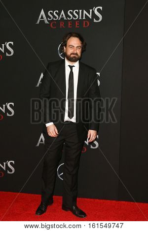 NEW YORK-DEC 13: Director Justin Kurzel attends the screening of