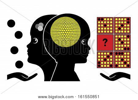 Brain Training for Kids. Smart quizzes makes children smart in early childhood education
