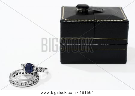 Sapphire And Diamond Wedding Bands