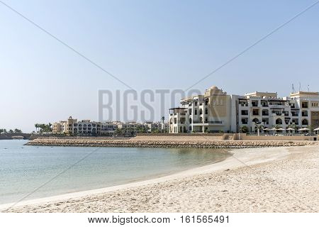 Sultanate of Oman Souly Bay Beach and Hotels Oceanside