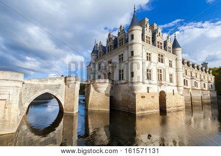 Exterior Of Chateau De Chenonceau
