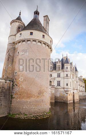 Chenonceau, Medieval Castle, Loire Valley, France
