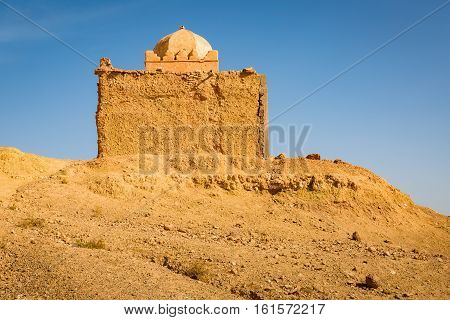 Small Mosque In Tabourahte, Morocco