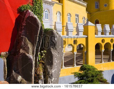 Palacio da Pena - Sintra, Lisboa, Portugal, Europe