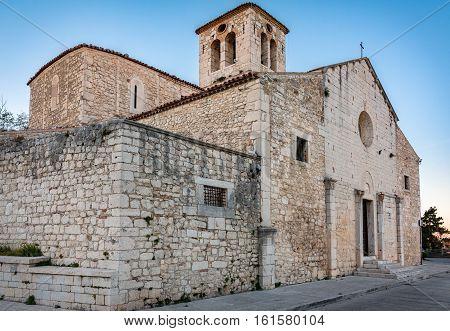 church of San Giorgio in Campobasso of Italy