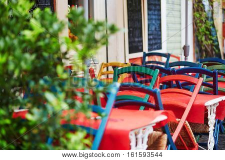 Outdoor Cafe In Rome, Lazio, Italy