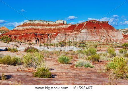 Paria Rimrocks In The Vermillion Cliffs, Utah, Usa