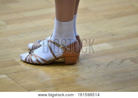 Legs Of A Dancing Girl