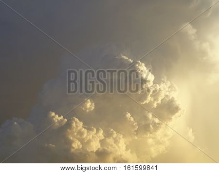 Image of Some Perfect Puffy Dreamy Clouds
