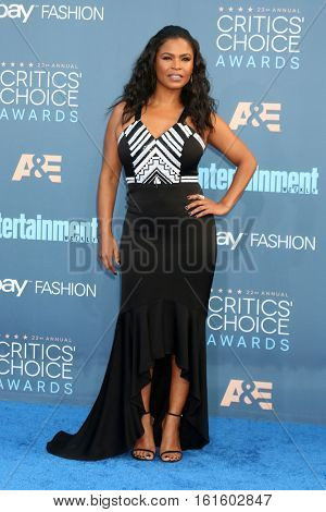 LOS ANGELES - DEC 11:  Nia Long at the 22nd Annual Critics' Choice Awards at Barker Hanger on December 11, 2016 in Santa Monica, CA