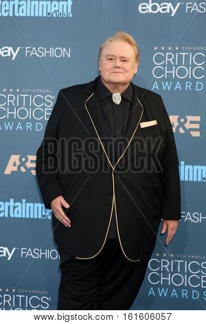 LOS ANGELES - DEC 11:  Louie Anderson at the 22nd Annual Critics' Choice Awards at Barker Hanger on December 11, 2016 in Santa Monica, CA